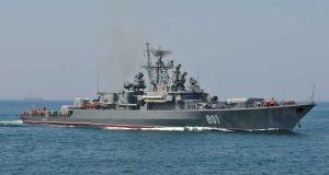 Russian frigate Ladny