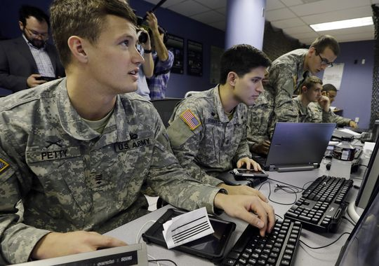West Point cyber defense exercise