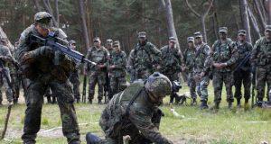 German military training