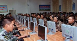 Chinese military. Cyber specialists.