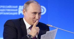 Putin do not tell gesture