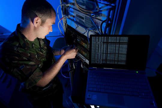 NATO IT soldier