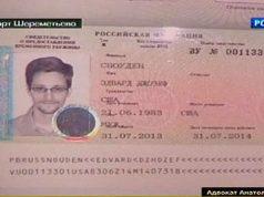 Snowden's russian ID
