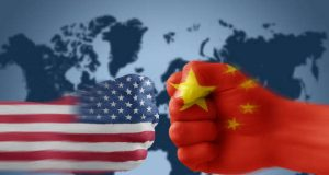 US and China bumping fists