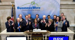 Business Wire NYSE Podium