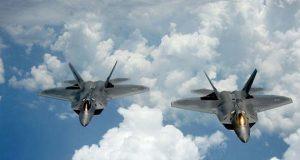 F-22 Fighter Jets