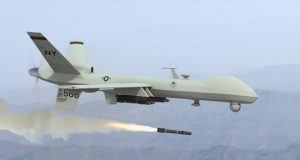 Reaper Drone Firing A Missile