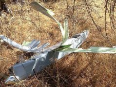 Drone shot down by turkish air force