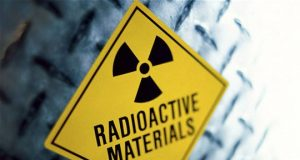 Radioactive materials sticker