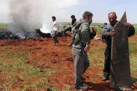 Syrian Jet Wreckage