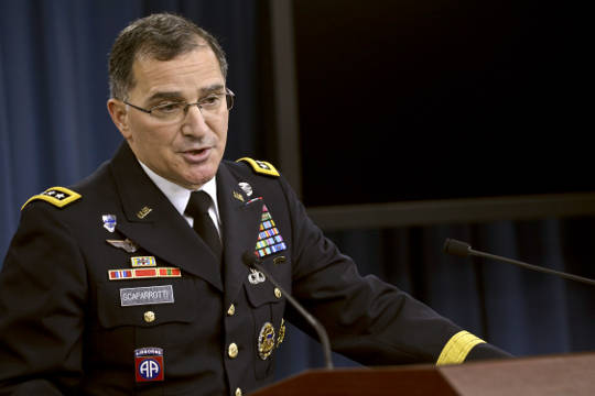 Curtis Scaparrotti NATO Supreme Commander