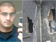 Photo of Omar Mateen and Orlando Crime Scene