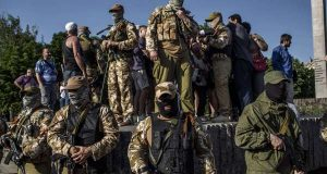 Gang of Ukrainian separatists