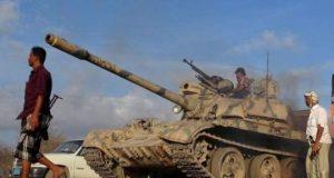 Yemeni tank