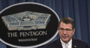 Ash Carter. Pentagon.