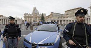 Italian Police in front of Vatican