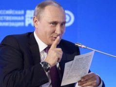 Putin do not tell gesture
