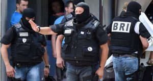 BRI French Police After Lyon Terrorist Attack