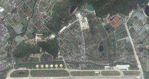 Chinese drone base
