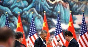 China USA drink
