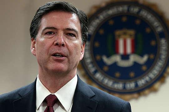 James Comey. FBI Director.