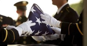 Military burial