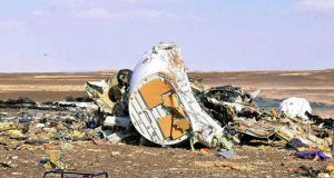 Russian Airplane Wreckage