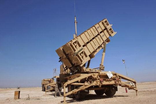 Saudi Patriot air defense