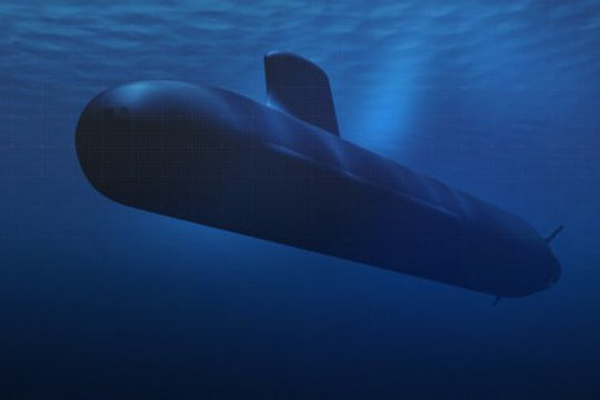 DCNS submarine illustration