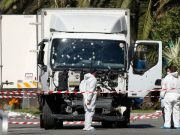 Truck used in Nice terrorist attack